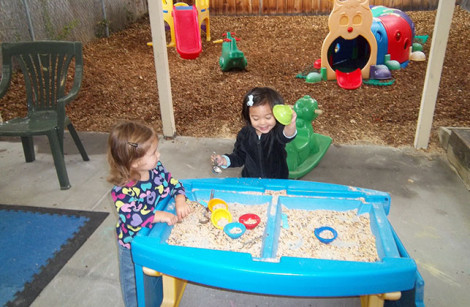 Learning Fun at the Sensory Sandbox